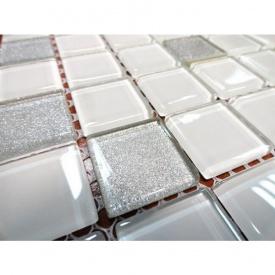 Мозаика стеклянная VIVACER MixC09 300x300 мм
