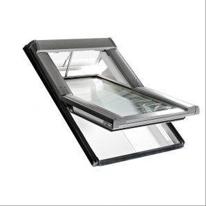 Мансардное окно Roto Designo R45 K WD RotoTronic E 74х118 см