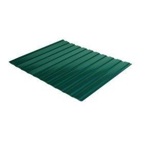 Профнастил Rauni C-10 1190/1140 мм 0,45 мм MAT Polyester SeAH Steel (Корея) RAL 6005