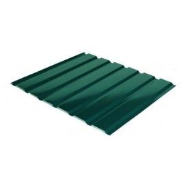 Профнастил Rauni C-18 1174/1128 мм 0,45 мм MAT Polyester SeAH Steel (Корея) RAL 6005
