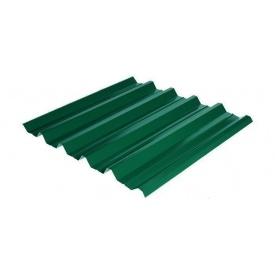 Профнастил Rauni HC-44 1055/1010 мм 0,5 мм MAT Polyester SeAH Steel (Корея) RAL 6005