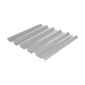 Профнастил Rauni HC-44 1055/1010 мм 0,5 мм MAT Polyester SeAH Steel (Корея) RAL 9006