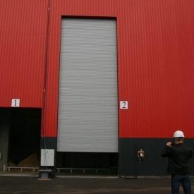 Ангарные ворота Ryterna RIB 13000x3500 мм RAL 9007
