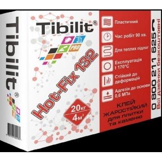 Клей для плитки и камня Tibilit Hot-Fix 132 20 кг