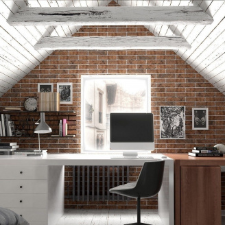 Плитка керамічна Golden Tile BrickStyle Westminster 60х250 мм 24Р020