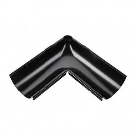 Зовнішній кут жолоба Акведук Преміум 135 градусів 125 мм чорний RAL 9005