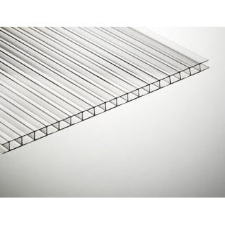 Полікарбонат стільниковий TitanPlast 8 мм 2,1х6 м прозорий