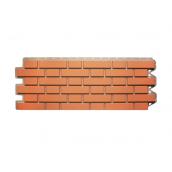 Фасадная панель Альта-Профиль Клинкерный кирпич 1220х440х20 мм Красный