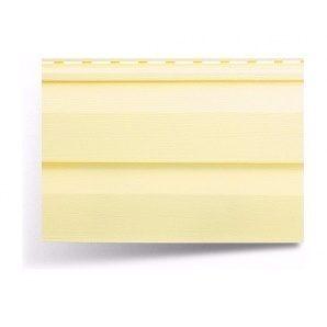 Сайдинг вініловий Альта-Профіль Alta-Siding двухпереломний 3660х230х11 мм лимонний