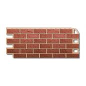Фасадна панель Альта-Профіль Цегла 1130х470х20 мм Червоний