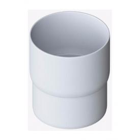 Муфта труби Альта-Профіль Еліт 95 мм білий