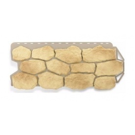 Фасадна панель Альта-Профіль Бутовий камінь 1130х470х20 мм Грецький