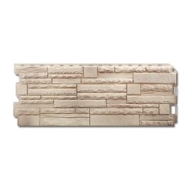 Фасадная панель Альта-Профиль Скалистый камень 1170х450х20 мм Алтай
