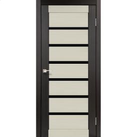 Двери межкомнатные Корфад PORTO COMBI DELUXE Венге PСD-02 600х2000 мм