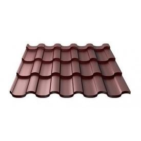 Металочерепиця Ruukki Adamante Purex 0,5 мм шоколадний