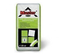 Самовыравнивающая смесь для устройства прочных покрытий пола Мaster Niveler 25 кг серая