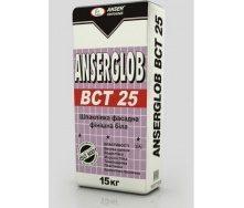 Шпаклевка фасадная Anserglob ВСТ 25 финишная 15 кг белая