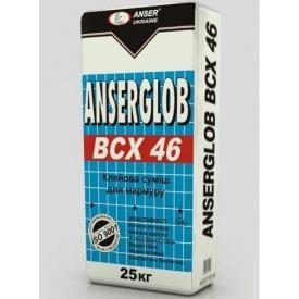 Клей для плитки Anserglob ВСХ 46 25 кг білий