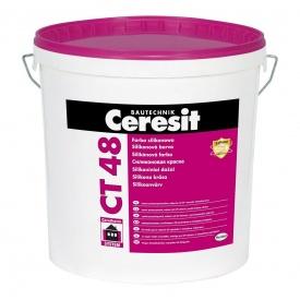 Краска силиконовая Ceresit CT-48 10 л