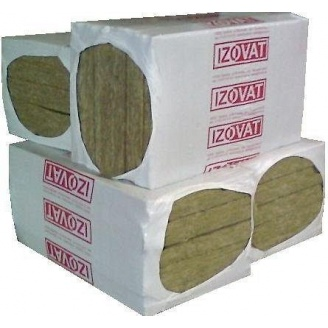 Базальтовая теплоизоляция Izovat 1000х600х50 мм 6 м2