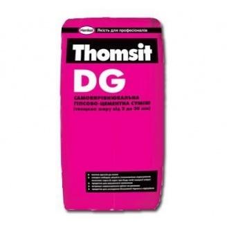 Самовирівнююча суміш Tomsit DG 25 кг