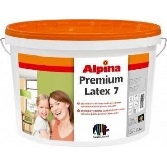 Краска водоэмульсионная Caparol Alpina Premiumlatex 3 B1 10 л