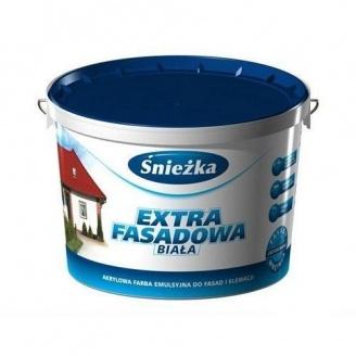 Краска акриловая Sniezka Extra Fasad 10 л белая