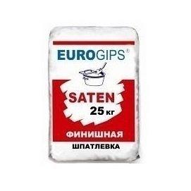 Шпаклівка фінішна гіпсова Saten Євро 25 кг