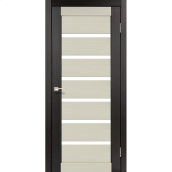 Двері міжкімнатні Корфад PORTO COMBI COLORE Венге РС-01 600х2000 мм