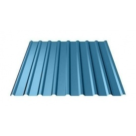 Профнастил Ruukki Т20 Polyester 17,5 мм синий