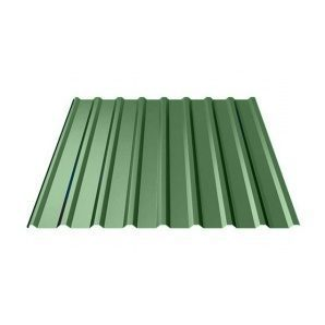 Профнастил Ruukki Т20 Polyester 17,5 мм зеленый
