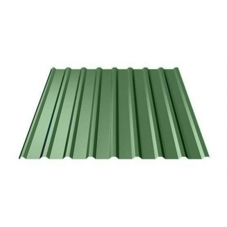 Профнастил Ruukki Т20 Polyester 17 мм зеленый
