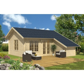Зведення дерев'яного дачного будиночка