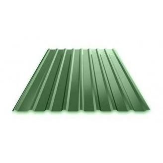 Профнастил Ruukki Т15 Polyester фасадный 13,5 мм зеленый
