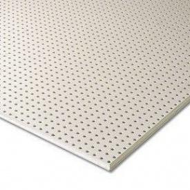 Гіпсокартон Knauf Cleaneo Akustik 10/23R FF 12,5х1196х2001 мм білий