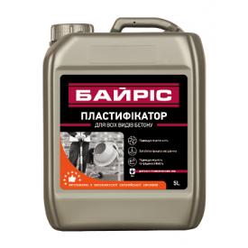 Пластификатор Байрис для всех видов бетона 5 л