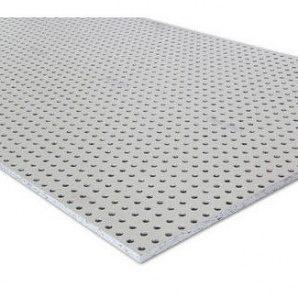 Гіпсокартон Knauf Cleaneo Akustik 15/30R FF 12,5х1200х1980 мм білий