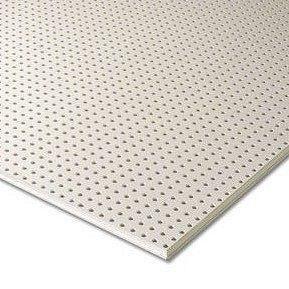 Гипсокартон Knauf Cleaneo Akustik 10/23R FF 12,5х1196х2001 мм белый