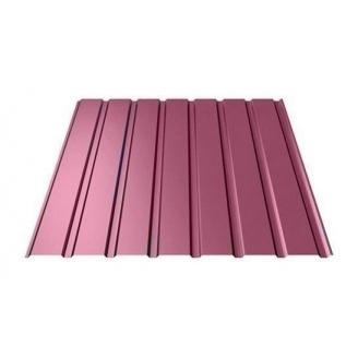 Профнастил Ruukki Т15-115 Polyester фасадний 13,5 мм червоне вино