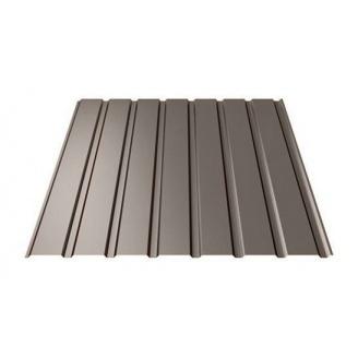 Профнастил Ruukki Т15-115 Polyester matt стеновой 13 мм темно-коричневый