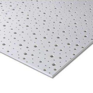 Гипсокартон Knauf Cleaneo Akustik PLUS 8/15/20R 4SK 12,5х1200х1875 мм белый
