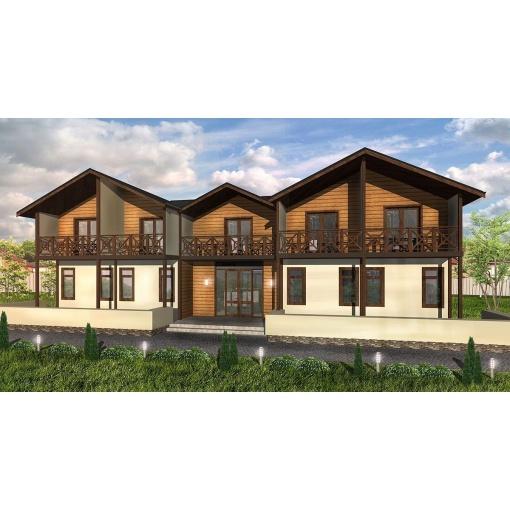 Проект готелю на 16 номерів ціна  1da217422a1ac