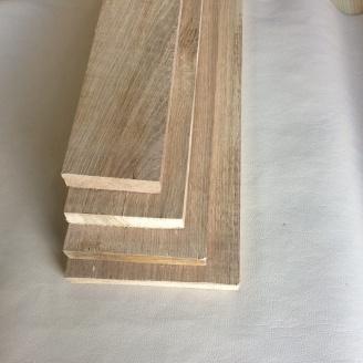 Доска сухая дуб 20 мм строганная