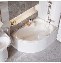 Ванна акриловая RAVAK Rosa I асимметричная  140x105 см правая