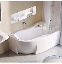 Ванна акриловая RAVAK Rosa 95 асимметричная 150x95 см правая