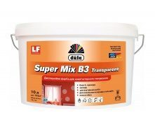 Краска Dufa Super Mix В3 Transparent 5 л прозрачный