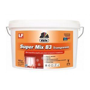 Фарба Dufa Super Mix В3 Transparent 5 л прозорий