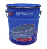 Мастика герметизирующая Ореол-1 Гермабутил 2М 3 кг серый