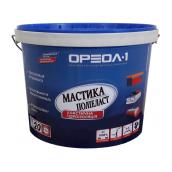 Мастика полимерная Ореол-1 Полиэласт высокоэластичная 20 кг