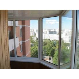 Изготовление алюминиевого балкона